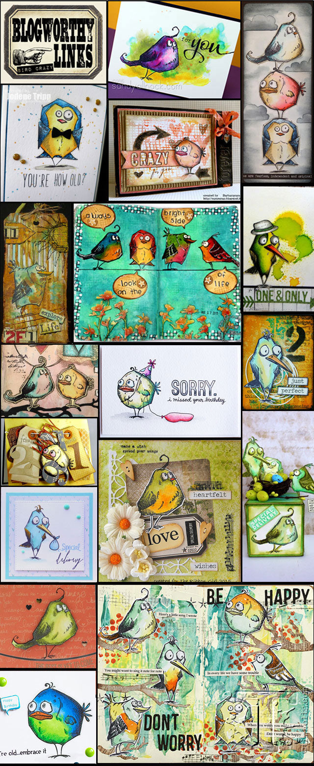 image from the Tim Holtz Simply Bird Crazy blog post