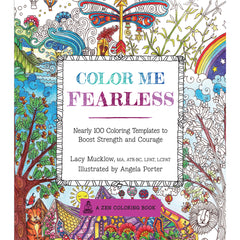 cover image of Color Me Fearless by Angela Porter and Lacy Mucklow