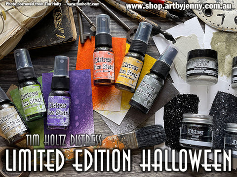 Limited Edition Halloween Distress by Tim Holtz and Ranger for Creating Art in 2021