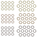 sample showing all the Tim Holtz Advantus Idea-Ology Metal Jump Rings