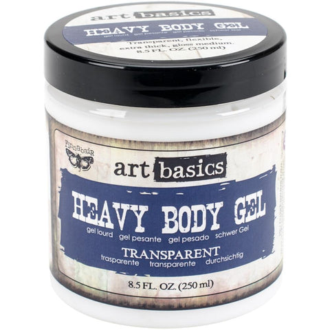Heavy Body Gel ... a transparent, gloss, gel acrylic medium - Finnabair Art Basics by Prima Marketing