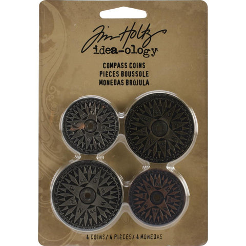 Tim Holtz Idea-Ology - Compass Coins