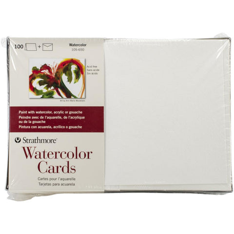 100 blank cards and envelopes by Strathmore Artist Paper