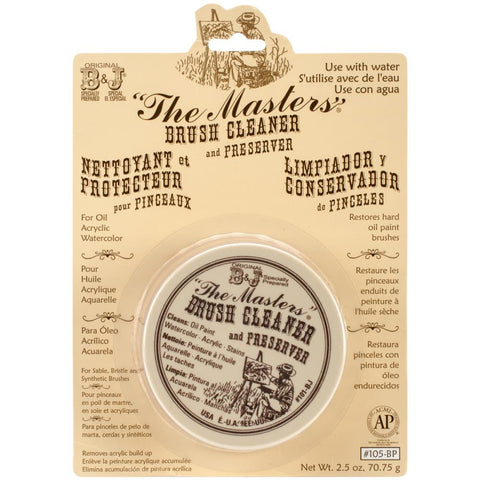 The Masters Brush Cleaner and Preserver - 2.5oz