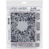 Tim Holtz Cling Stamps - Botanical Sketch