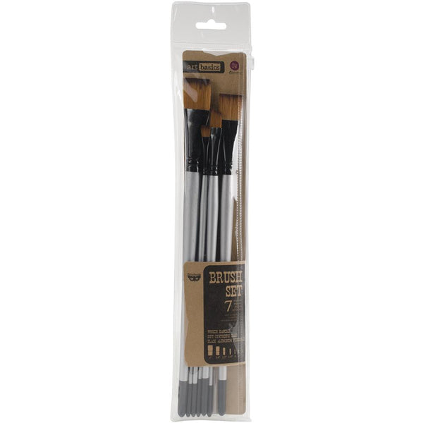 Finnabair Art Basics - Brush Set - 7 Paint Brushes
