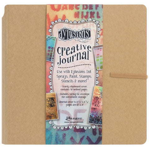 Dylusions Creative Art Journal - Square 8x8 - Mixed Media Paper