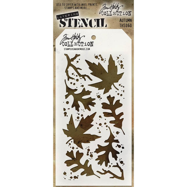 Tim Holtz Layering Stencil - Autumn