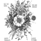 sample of the Glorious Garden by Tim Holtz and Art Gone Wild
