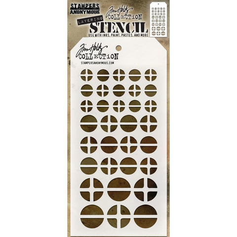 Tim Holtz Layering Stencil - Screwed