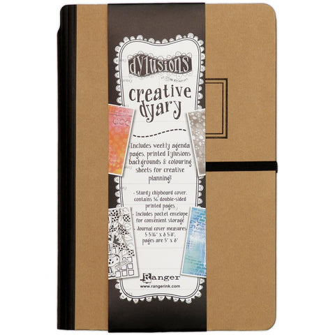 Dylusions Creative Dyary journal and notebook