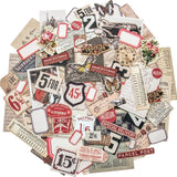sample of Tim Holtz Idea-Ology Ephermera ... Snippets - Teeny Tiny Die Cuts for Art