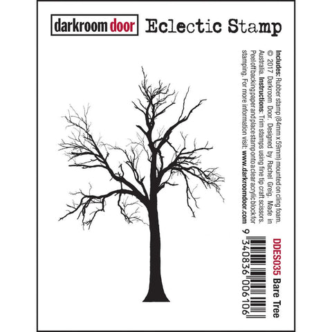 bare tree cling stamp by Darkroom Door