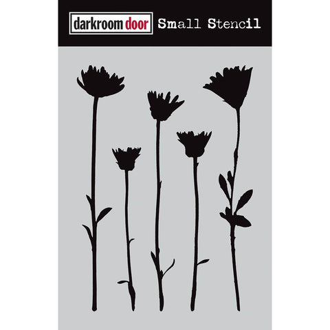 Wildflowers ... small stencil