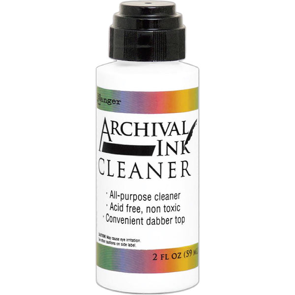 Archival Ink Cleaner by Ranger - 2oz Bottle