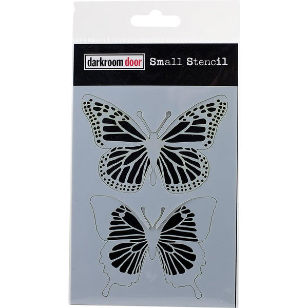 Darkroom Door Stencil and Mask - Small - Butterflies