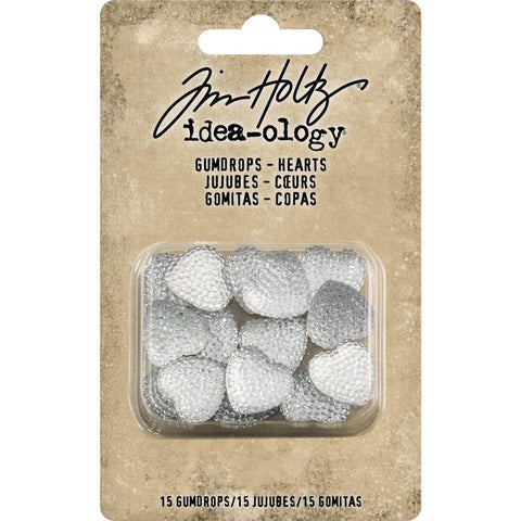 Gumdrop Hearts by Tim Holtz
