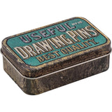 drawing pin tin by Tim Holtz