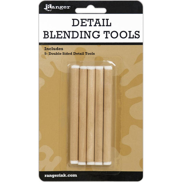 Ranger Ink Detail Blending Tools 5 Pack Double Ended