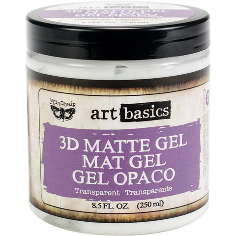 3D Matte Gel ... a transparent, matte, heavy body acrylic medium