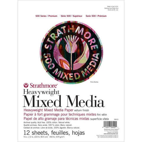 Strathmore Series 500 Premium Heavy Weight Mixed Media Paper
