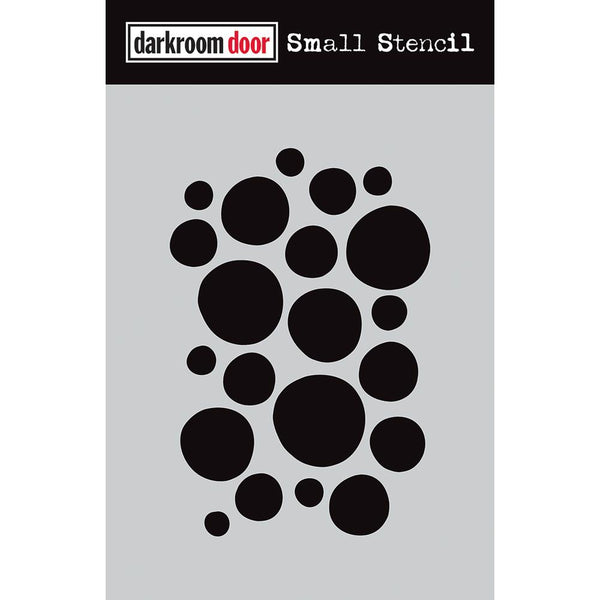 Darkroom Door Stencil - Small - Arty Circles
