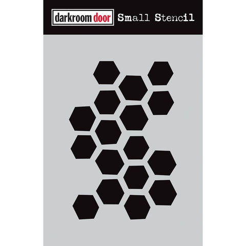 Stencil by Darkroom Door - Small - Arty Hexagons