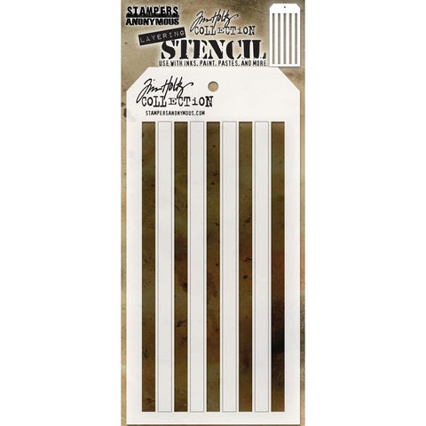 Shifter Stencil - Stripes ... layering stencil by Tim Holtz (THS108)