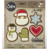Tim Holtz Thinlits - Die Cutting Set by Sizzix - Fresh Baked Set 1
