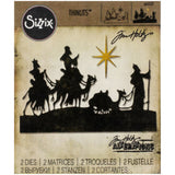 Wise Men by Tim Holtz - Sizzix Die Cutting Template
