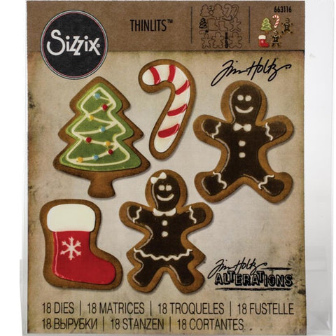 image showing Fresh Baked Set 2 by Tim Holtz and Sizzix