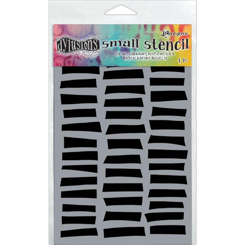 Shutters Dylusions by Dyan Reaveley Art Stencil for Mixed Media