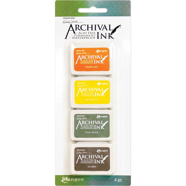 Archival Ink Mini InkPads - 4 Colours by Wendy Vecchi - Kit 5