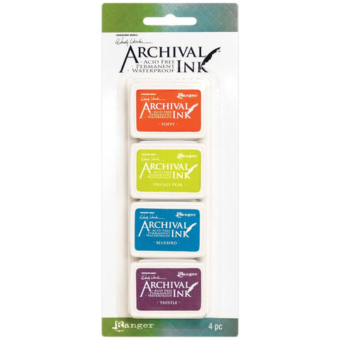 Archival Ink Mini InkPads - 4 Colours by Wendy Vecchi - Kit 6