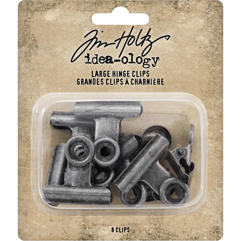 Idea-Ology Large Metal Hinge Clips ... by Tim Holtz