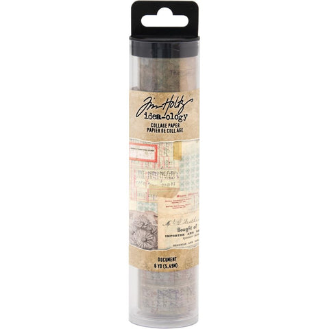 Document - Idea-Ology Collage Tissue Paper by Tim Holtz