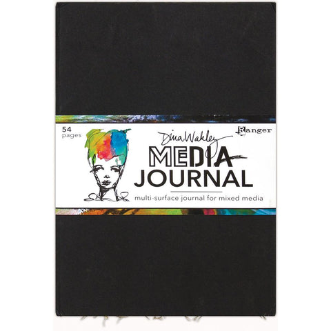Dina Wakley - Large 10x14 Journal for Mixed Media - 54 Pages