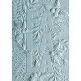 Fa La La - 3D Textured Impressions Embossing Folder ... designed by Courtney Chilson for Sizzix
