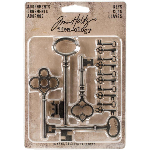 Tim Holtz Idea-Ology - Adornments Keys