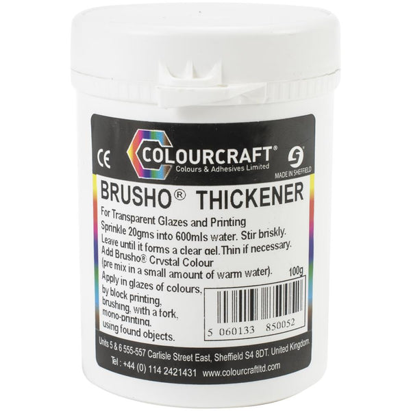 Brusho Crystal Colour Thickener by Colourcraft Ltd for sale at Art by Jenny in Australia