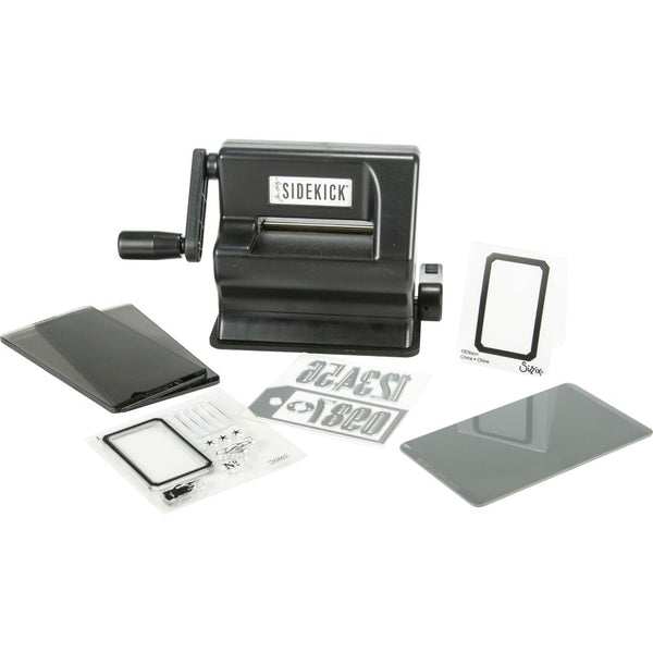 Sizzix Tim Holtz Sidekick Die Cutting and Embossing Machine in Black