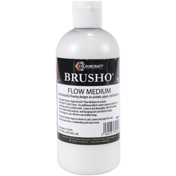 Brusho Flow Medium for Watercolour and Acrylic paints