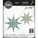 Fanciful Snowflakes Thinlits by Tim Holtz Die Cutting Templates Sizzix id 664227