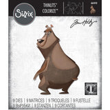 Theodore the Bear ... Colorize Thinlits - Die Cutting Templates by Tim Holtz and Sizzix (no. 664410)
