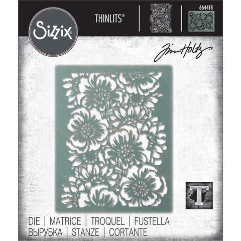 Tim Holtz Thinlits Die Cutting Set by Sizzix - Bouquet 664418