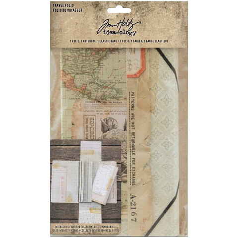Travel Folio - Tim Holtz Idea-Ology Planner System