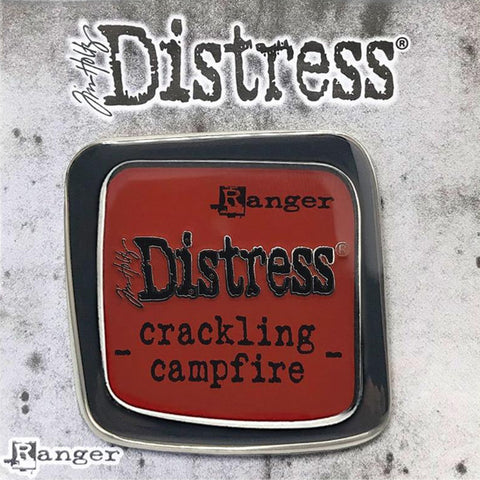Tim Holtz Distress Enamel Pin Badge Brooch cover image