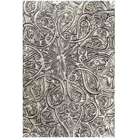 Tim Holtz Texture Fades 3D Embossing Folder by Sizzix - Engraved - NEW!