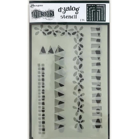 Dylusions Stencils - Dyalog Frame It - NEW!