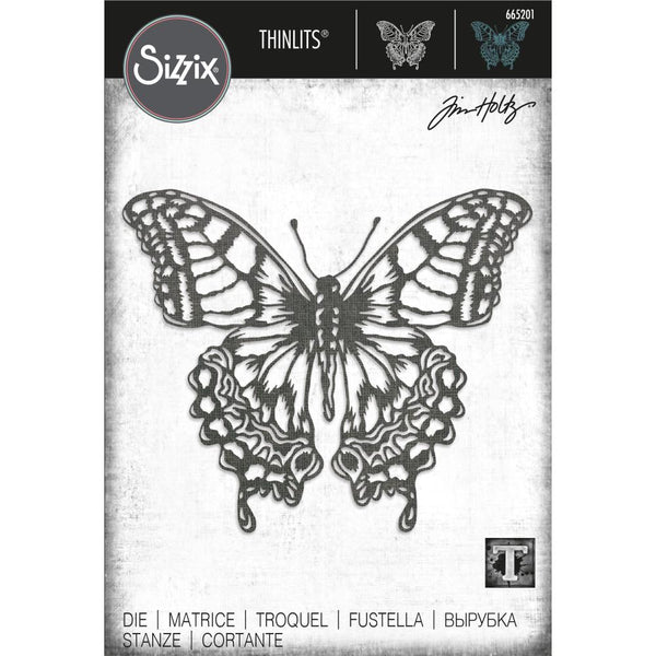 Tim Holtz Thinlits Die Cutting Set by Sizzix - Perspective Butterfly